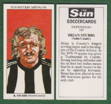 Notts County Brian Stubbs